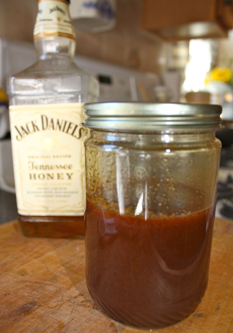 Salted Whiskey Caramel Sauce