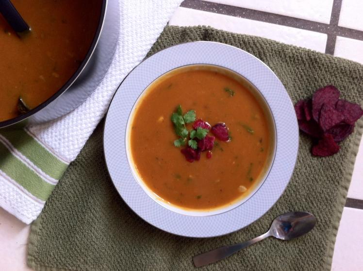 Mushroom Pumpkin Soup