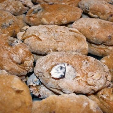 Broinhas de Natal {Portuguese Christmas Potato, Dried Fruit + Nut Cookies}