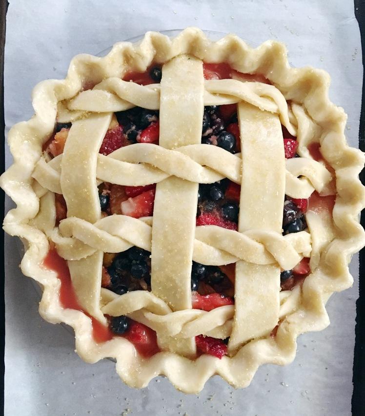 Summer Berry + Cherry Pie