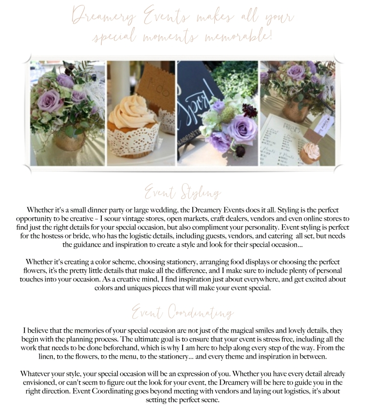 Event Planning & Styling Services