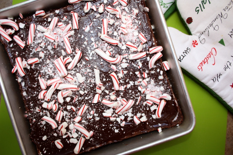 Peppermint Layer Brownies