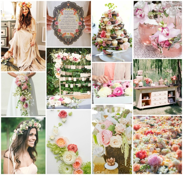 Spring Blossoms Wedding Inspiration