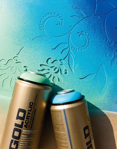 I'm Loving...Montana Gold Spray Paint
