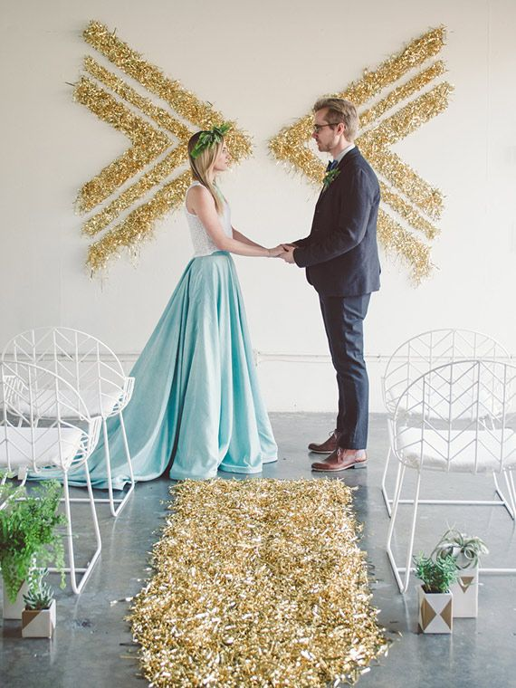 I'm Loving....Geometric Wedding