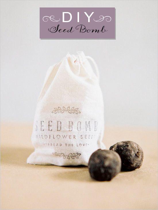 I'm Loving..Seed Bomb Favors