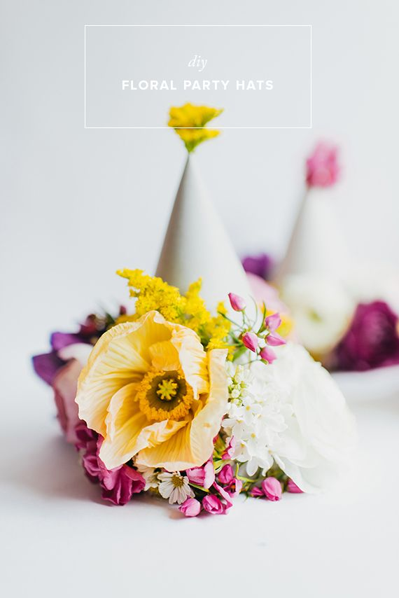I'm Loving...Flower Party Hats