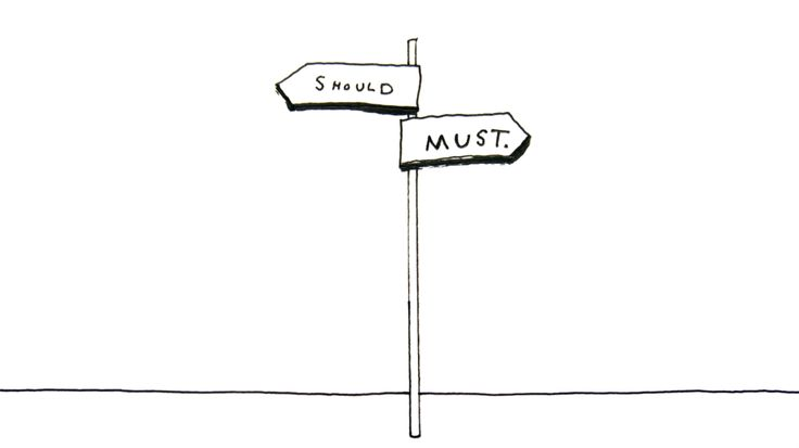 I'm Loving..The Crossroad of Should and Must