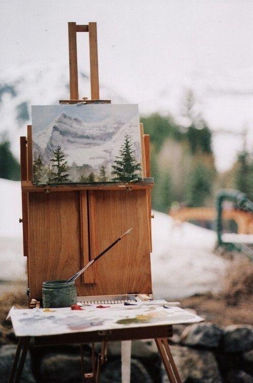 I'm Loving..Al Fresco Painting
