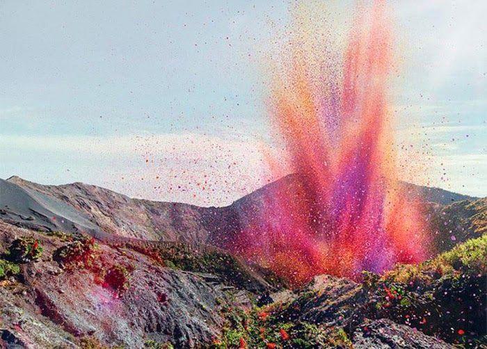 I'm Loving..Volcano Erupting Flower Petals