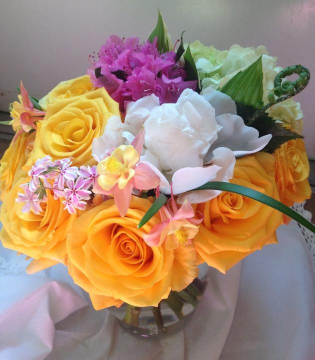 Mother's Day Bright Garden Floral Arrangement