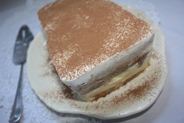 Tiramisu Ice Cream Cake | The Dreamery