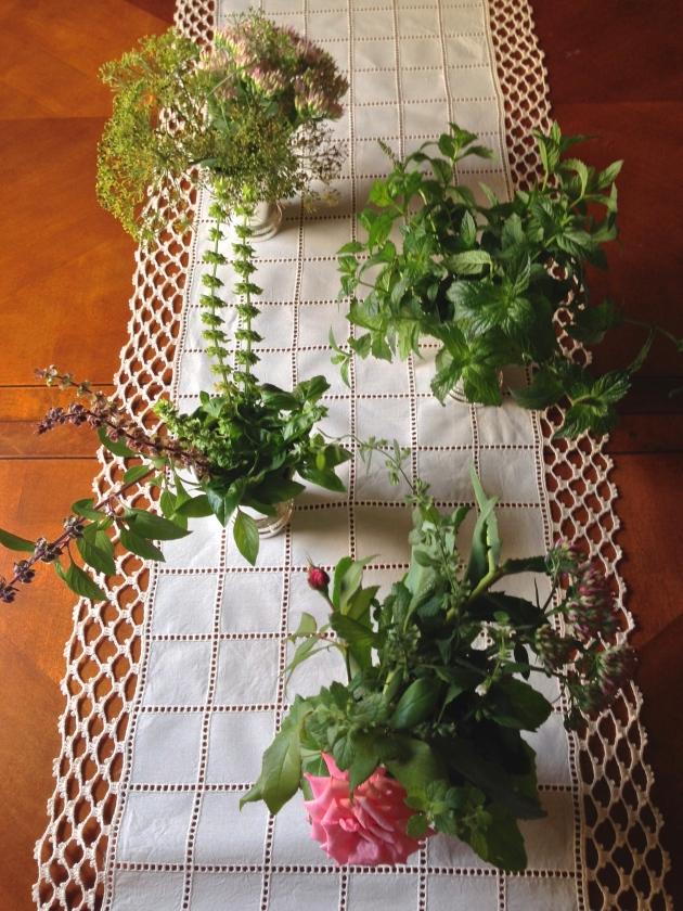 Flower + Herb Arrangement