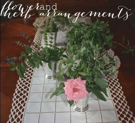 Flower + Herb Arrangment