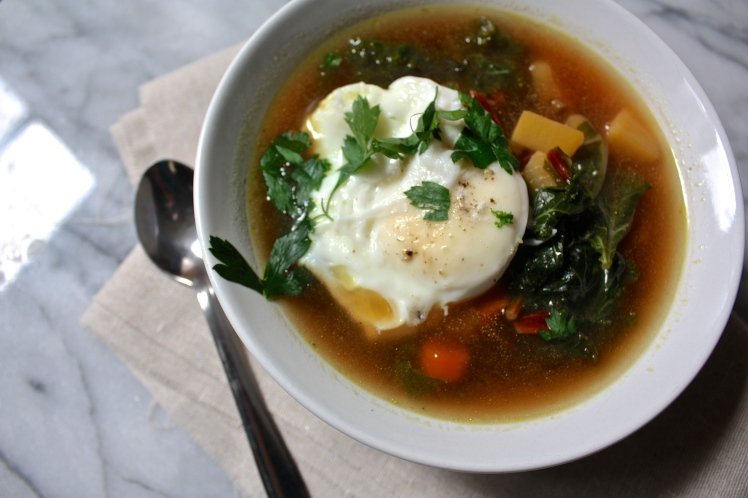 Kale and Beet Soup