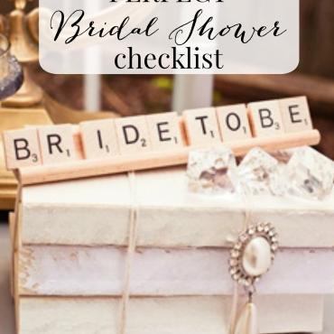 The Perfect Bridal Shower Checklist
