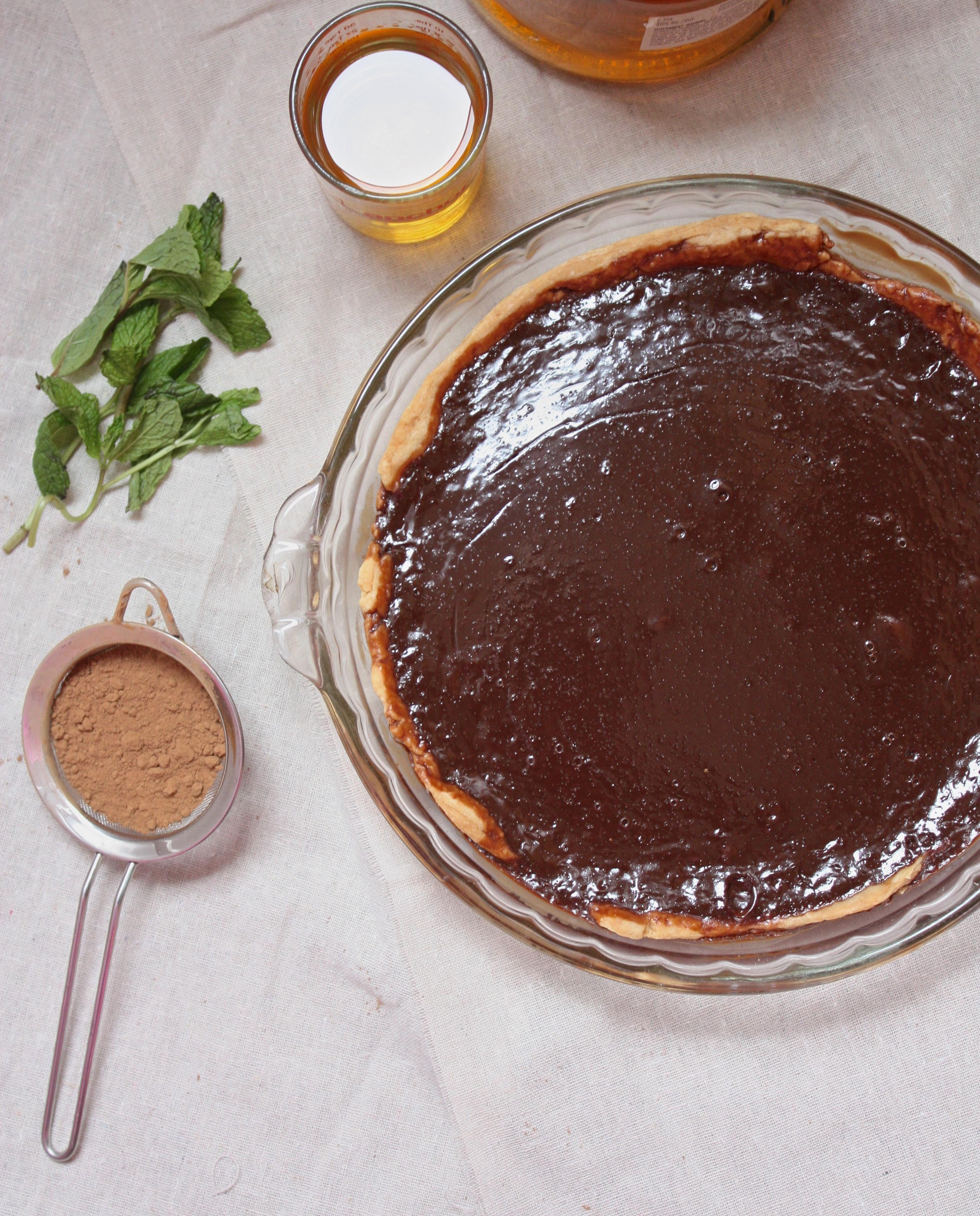 Chocolate Irish Cream Pie | The Dreamery