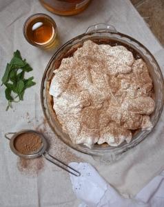 Chocolate Irish Cream Pie