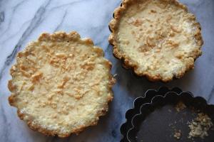 Gluten Free Coconut Grapefruit Tartlets