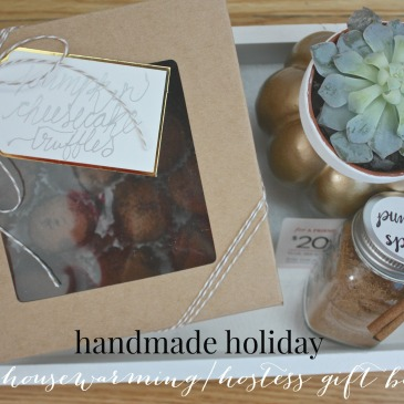 Handmade Holiday: Housewarming/Hostess Gift Set