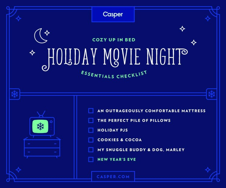 New Year's Eve Movie Date Night In