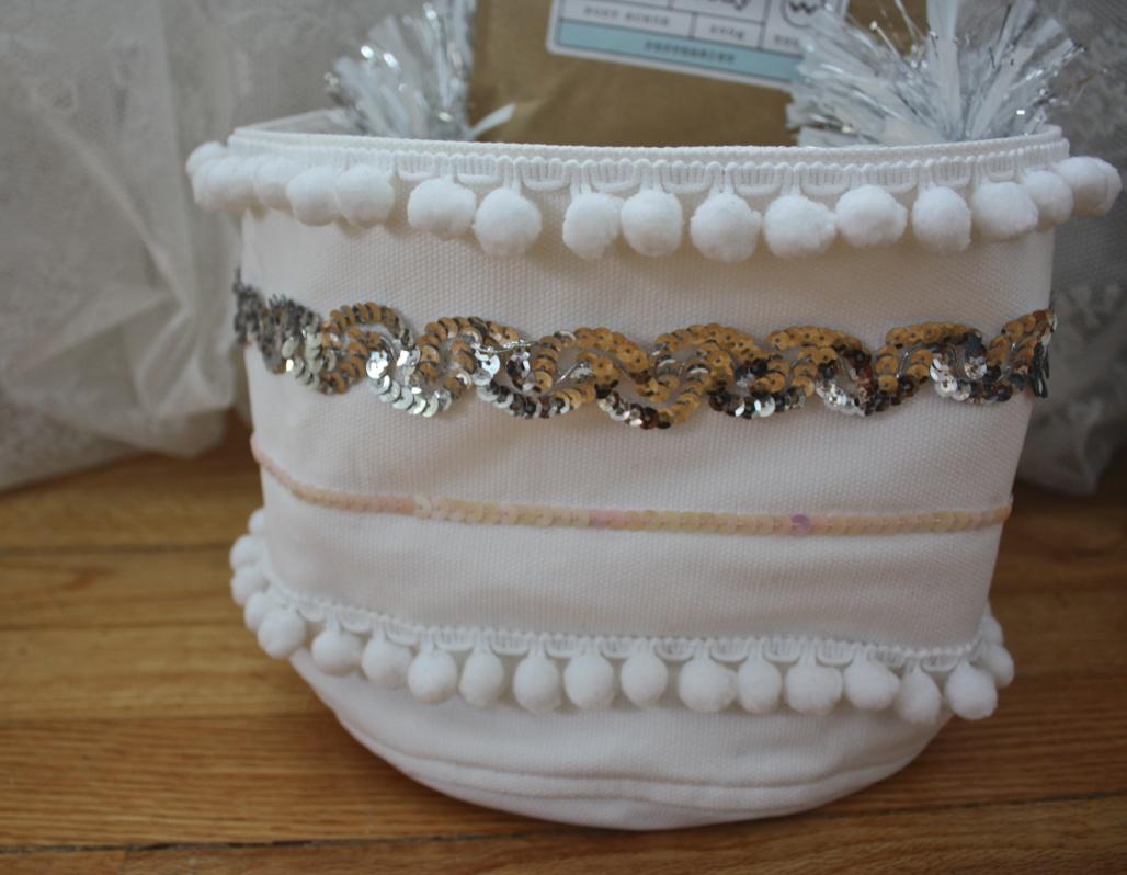 Handmade Holiday: Moroccan Inspired Baskets
