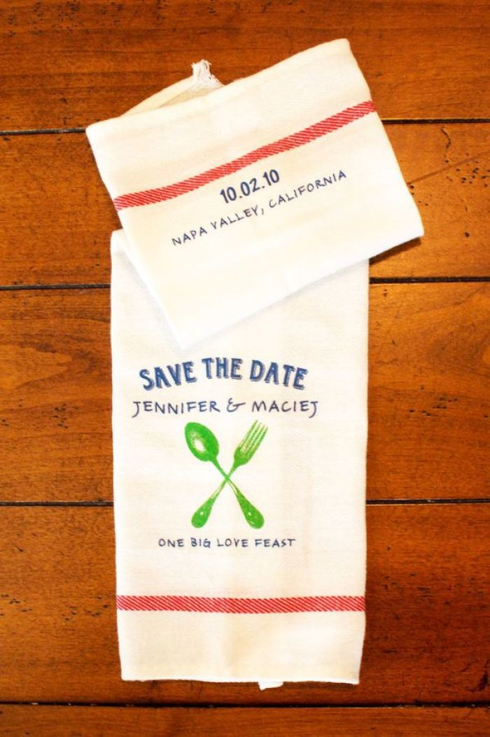Wedding Inspiration: Save the Dates