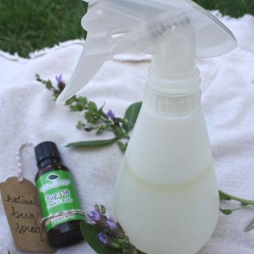 Natural Bug Spray DIY