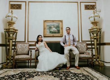 Jenny + Roberto's Gatsby Inspired Wedding   Dreamery Events