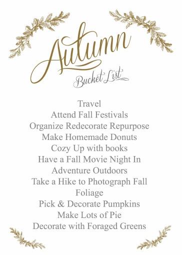 Autumn Goals   Dreamery Events