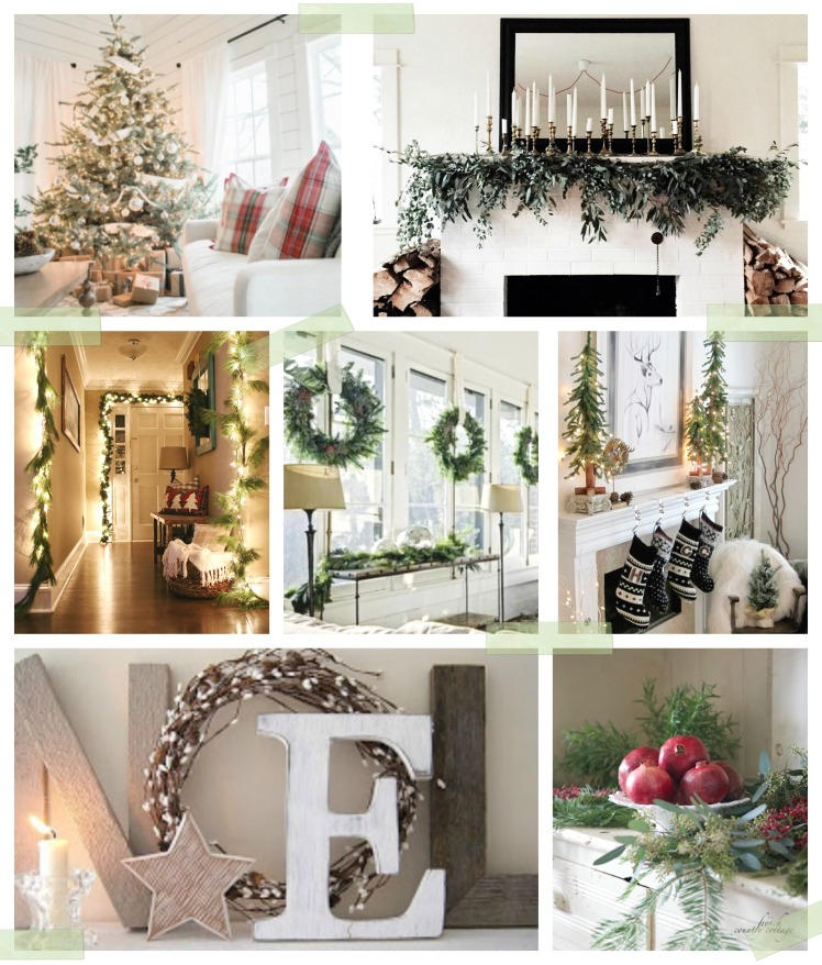 Christmas Moodboard : Rustic & Modern Cozy Vibes   Dreamery Events