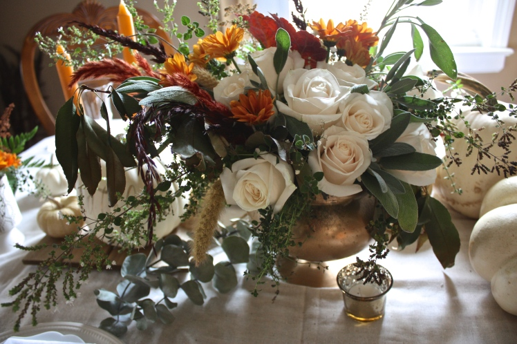 Floral Inspiration : Soft & Warm Thanksgiving Hues | Dreamery Events