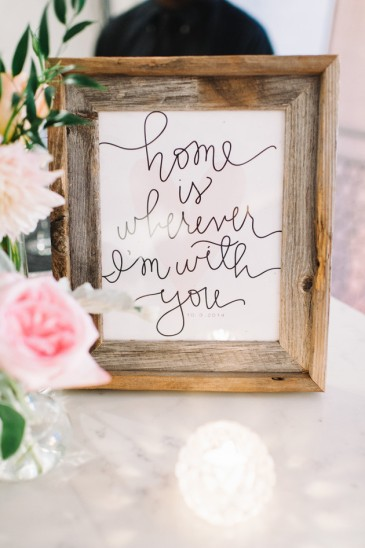 The Signs You Need at Your Wedding | Dreamery Events