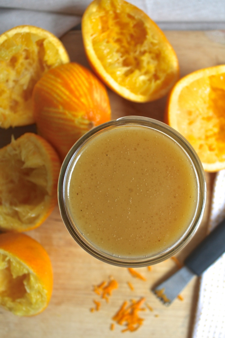 Orange Walnut Dressing & My Favorite Winter Salad | Dreamery Events
