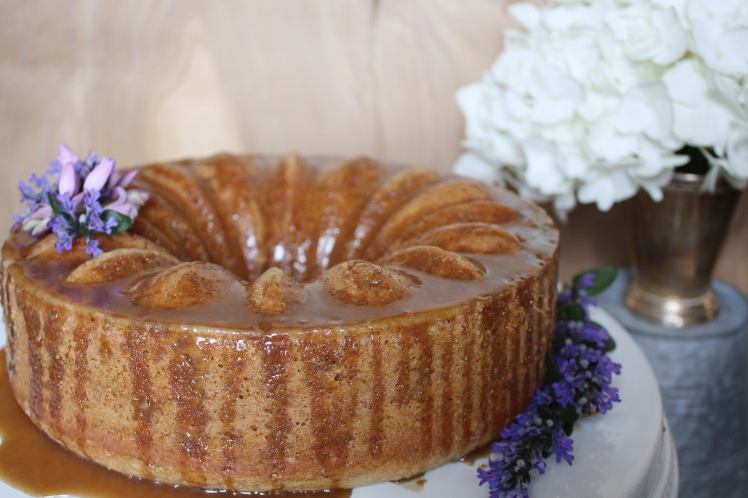 Kentucky Bourbon Brown Butter Cake | Dreamery Events