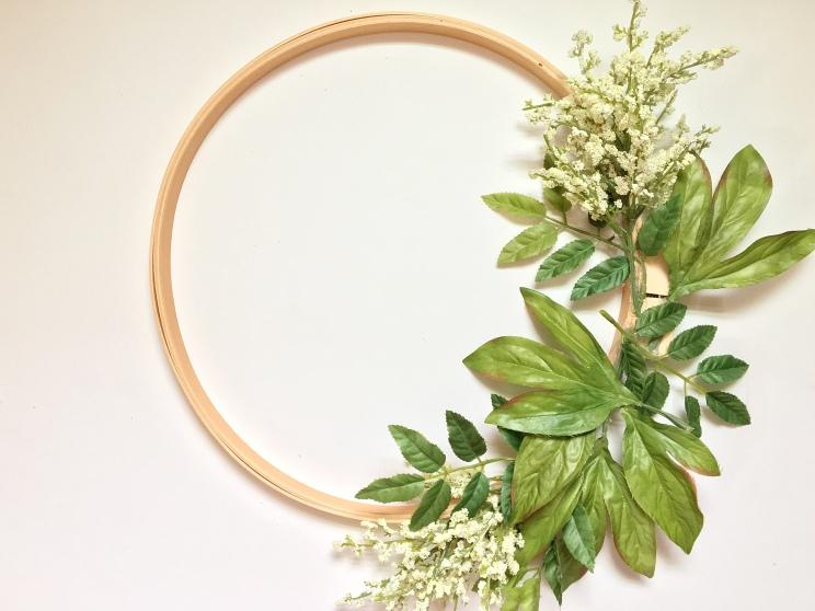 DIY : Embroidery Hoop Wreath || Dreamery Events