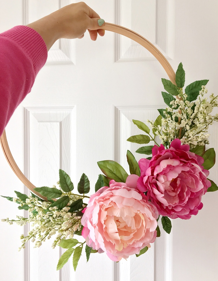 DIY : Embroidery Hoop Wreath || Dreamery Events