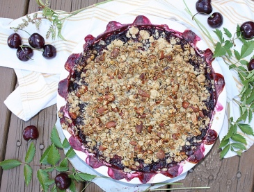 Cherry & Wine Granola Crisp | Dreamery Events